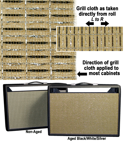Voodoo Amps Custom Grill Cloth